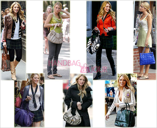 The Many Handbags of Blake Lively on Gossip Girl