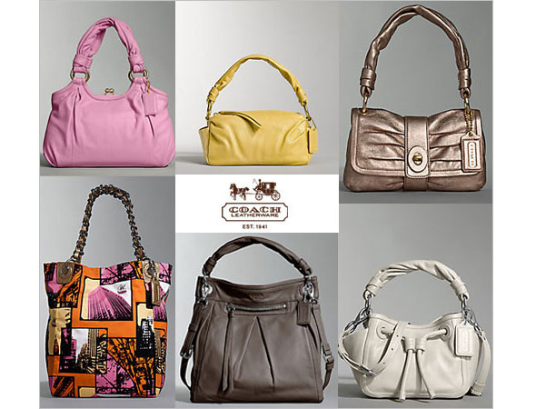 Coach's Parker Handbags from its Spring Collection