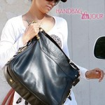Halle Berry Loves her Coach Large Zoe Leather Hobo 04ab23218c218