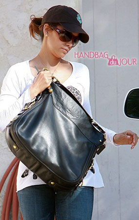 Halle Berry Loves her Coach Large Zoe Leather Hobo