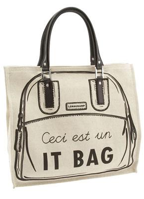 Longchamp 'It Bag' Vertical Tote