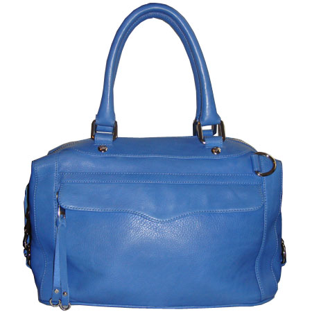 Rebecca Minkoff Morning After Mini Bag in cobalt