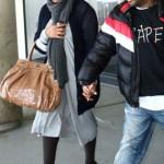 Janet Jackson loves her Zagliani puffy bags tan python botox jermaine dupri