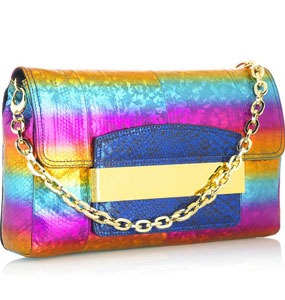 Haute or Not: the Jimmy Choo Celeste Rainbow Clutch