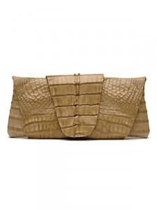 Juliette Jake Crocodile Wrap and Wrap Clutch