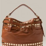 Rebecca Minkoff 'Stud Devote' Belted Tote brown