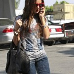 Ashley Tisdale with the Alexander Wang Coco Duffel