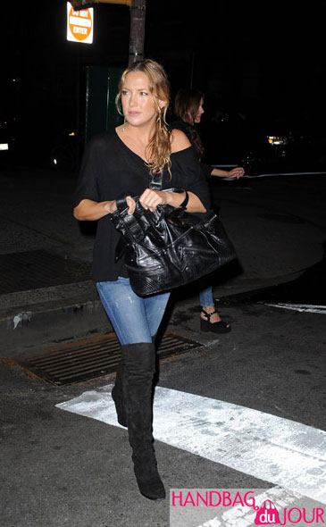 Kate Hudson Alexander McQueen large Faithful Hobo