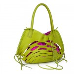 Kendall Conrad Playera bag in chartreuse