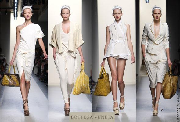 Bags on the runway at Bottega Veneta - Milan Fashion Week Spring Summer 2010