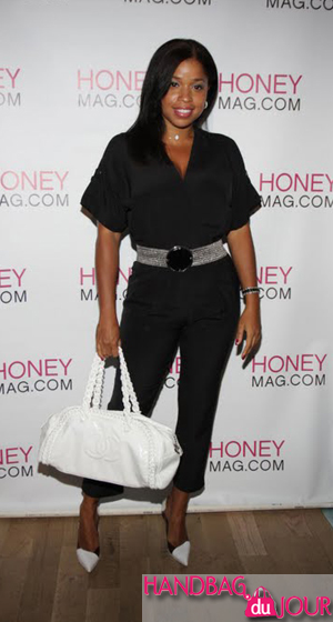 Mashonda honeymag.com Changing Of The Guard Party Chanel Luxury Ligne Bowler bag alicia keys twitter