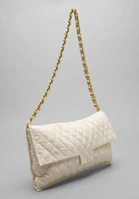 Haute or Not: No. 3 'The Bag' in Cream by Slow & Steady Wins the Race