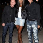 Naomi Campbell celebrates Milan Fashion Week with Dolce & Gabbana