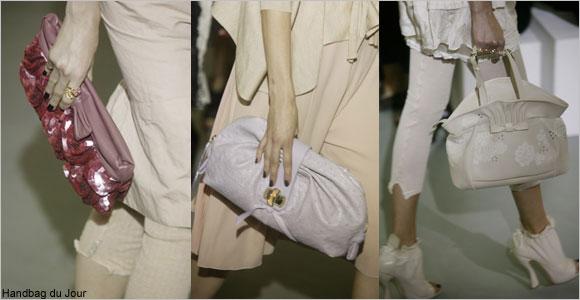 Bags on the runway: Nina Ricci at Paris Fashion Week