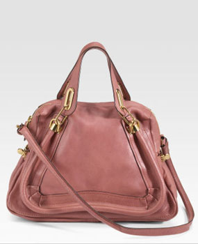 Blush Pink Chloé Paraty Medium Tote