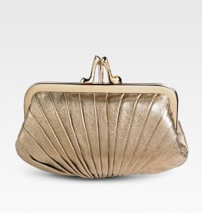 bridal evening bag Christian Louboutin Pliage Framed Clutch