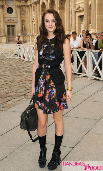 Leighton Meester Louis Vuitton Spring Summer 2010