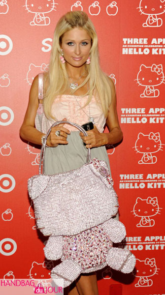 Paris Hilton Hello Kitty 35th anniversary celebration held at Royal/T SANRIO