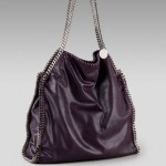 Stella McCartney Falabella City Chain tote purple