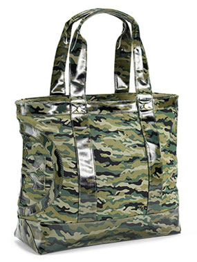 Tory Burch Small Camo Tote