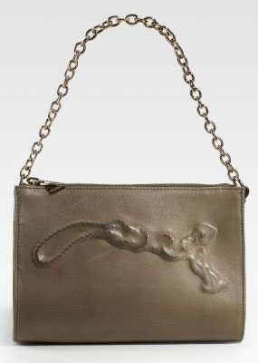Yves Saint Laurent Mini Charm Leather Bag