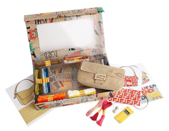 Fendi limited-edition Baguette Mezzo Punto do-it-yourself DIY