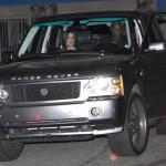 Khloe Kardashian Lamar Odom Philippe Restaurant West Hollywood grand opening Fendi Vintage Leather Baguette