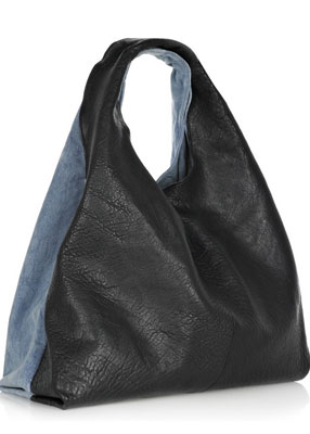 Alexander Slouchy Leather Shoulder Bag