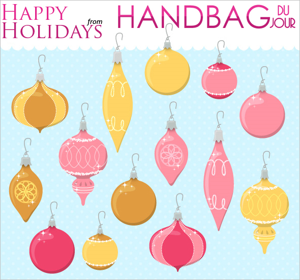 Happy Holidays e-card from Handbag du Jour