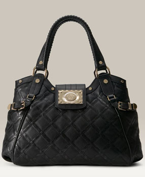 Versace Quilted Leather Shopper