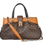 Limited Edition Louis Vuitton Oskar Waltz Ostrich Lizard & Snake Runway Bag