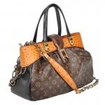 Limited Edition Louis Vuitton Oskar Waltz Ostrich Lizard & Snake Runway Bag