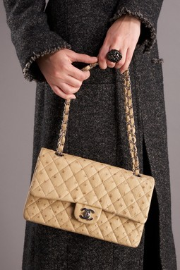 Chanel Ostrich 2.55 Handbag on HauteLook