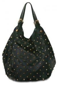 Givenchy Nylon Small New Sacca Top handle spike stud bag