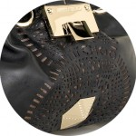 Steal du Jour: Jimmy Choo Riki laser-cut leather bag