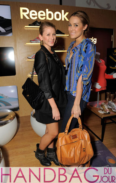 LC and Lo do the Reebok at the Kari Feinstein Golden Globes Style Lounge with Marc Jacobs and Chanel