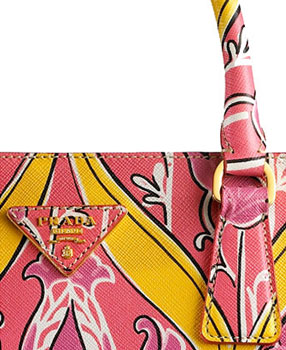 Haute bag of the week: Prada Saffiano Print Tote close up