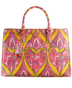 Haute bag of the week: Prada Saffiano Print Tote