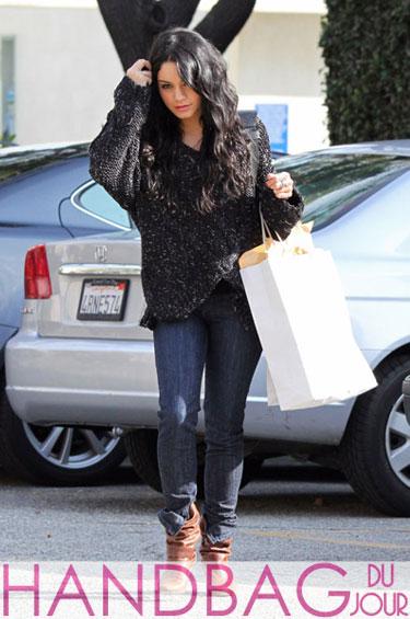 Vanessa Hudgens Totes A New Bag The Balenciaga Giant