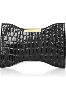 Steal du Jour: Alexander McQueen Squeeze It leather clutch