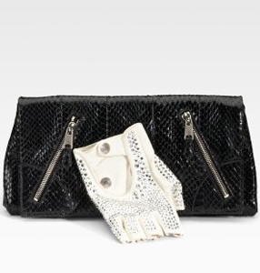 Macabre or must-have the Alexander McQueen Thriller Faithful Glove Clutch