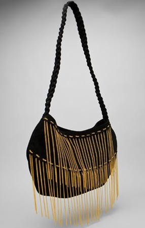 Haute or Not J.J. Winters Chain Fringe Bag