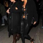 Thandie Newton edges it up in London black Chanel Flap bag