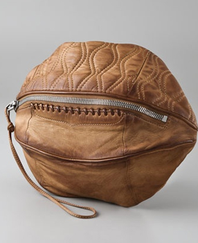 Alexander Wang Brady Football Clutch