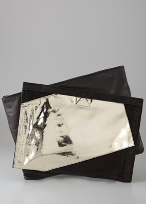 Haute bag of the week Alexander Wang Cher Large Siamese Clutch