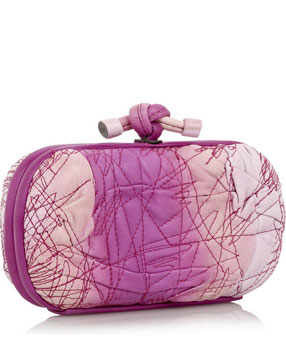 Bottega Veneta 'The Knot' leather clutch