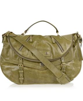 Alexander McQueen's Faithful medium polished-leather satchel is our new 'old Faithful' bag