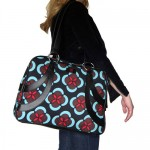 abstract floral Chloe Dao for Nuo satchel