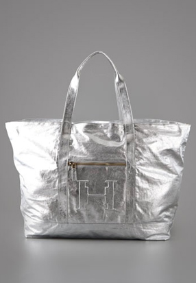 Haute bag of the week: Halston Heritage Metallic Tote