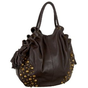 Pour La Victoire handbags 'Megan' Studded Leather Hobo